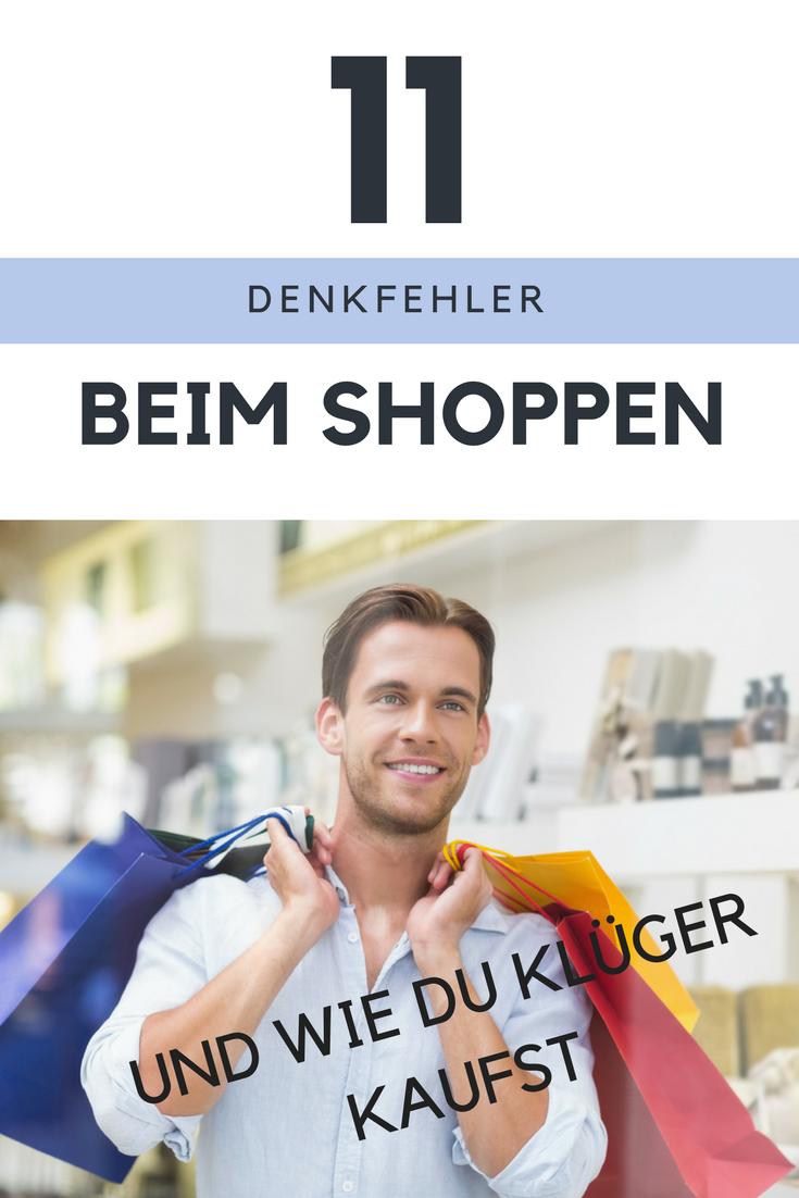 Shopping-Tipps für Männer und gern auch Frauen: Diese