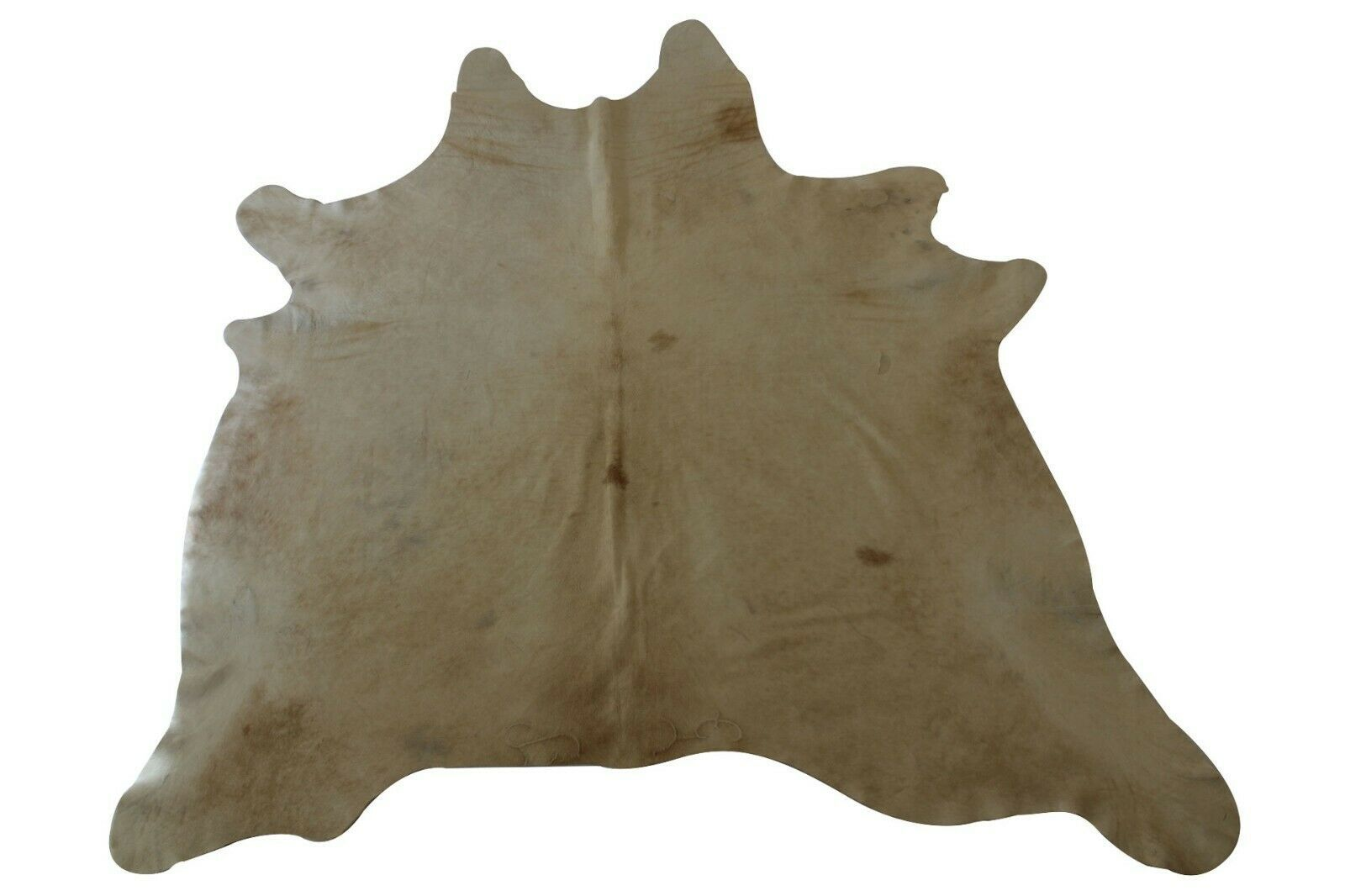 Details About Real Cowhide Rug Beige White Large 6x7 Ft Cow Skin
