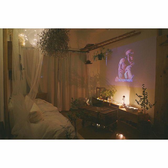 部屋全体 プロジェクター 映画 一人暮らし 古いもの などの