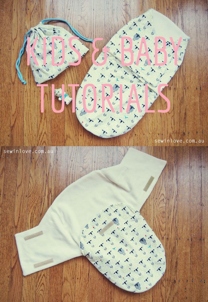 Free Sewing Pattern Review: Snuggler baby swaddle wrap | Pinterest ...
