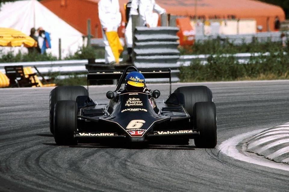 Ronnie Peterson su Lotus Anderstorp 1978
