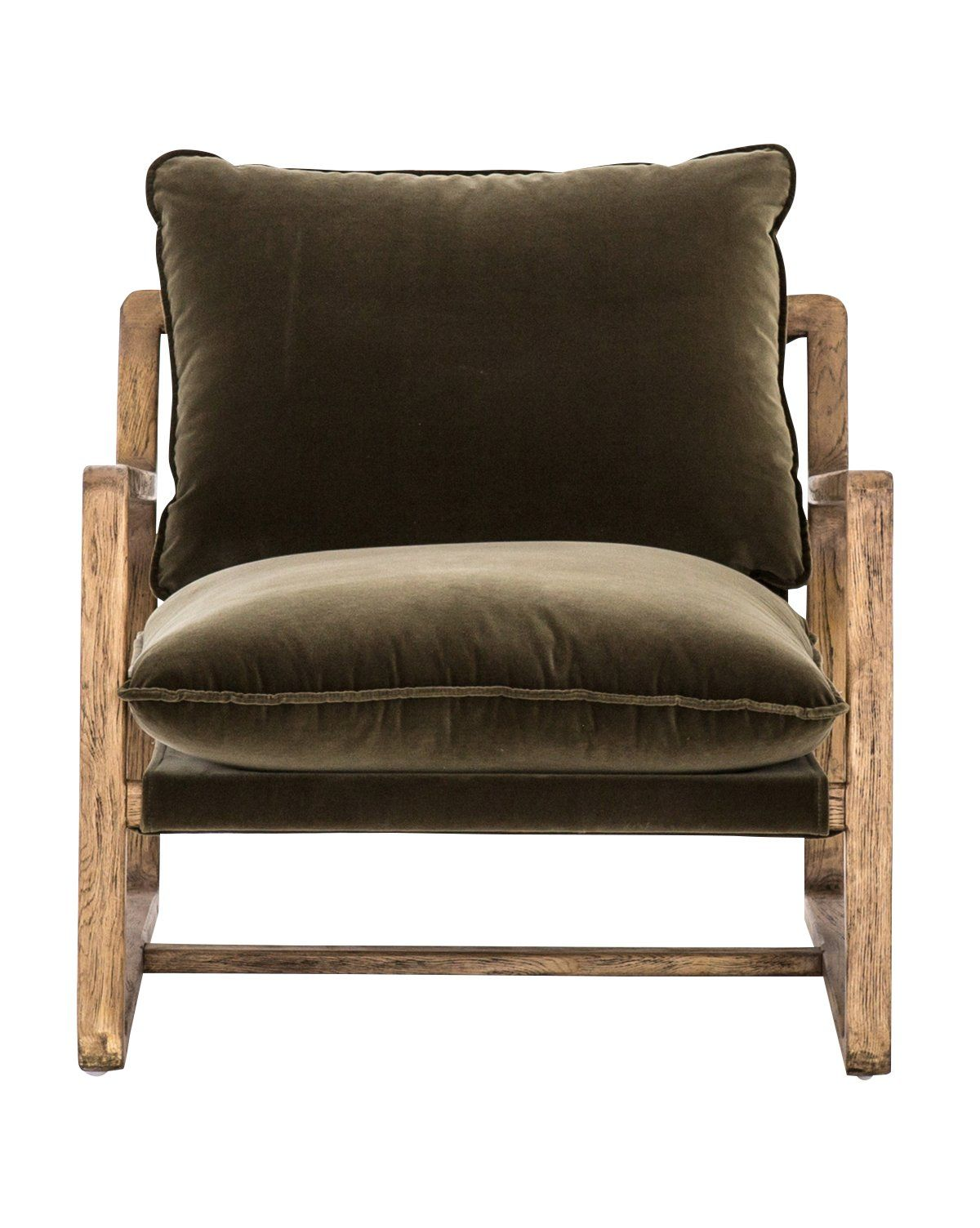 Chairs mcgee co olive green chair accent