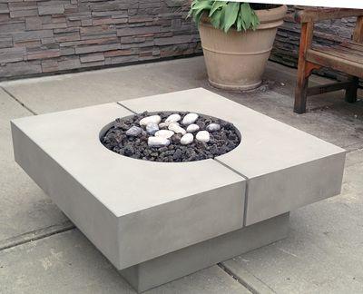 q square fire table dreamcast design and production. Black Bedroom Furniture Sets. Home Design Ideas