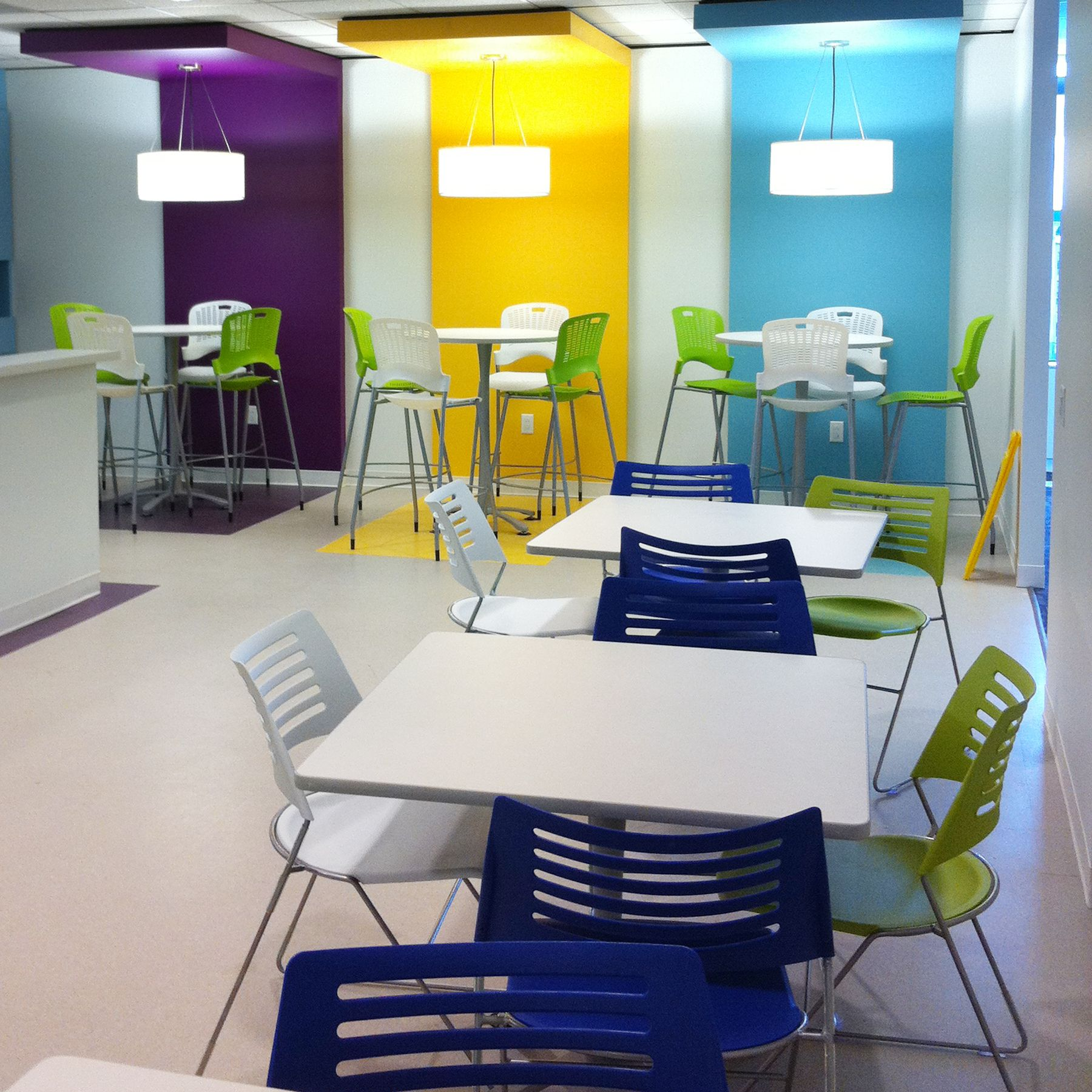 dress up that lunch room or collaborative workspace with cha-cha