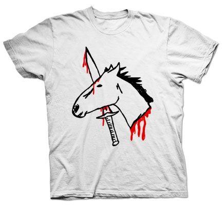 impaled horse