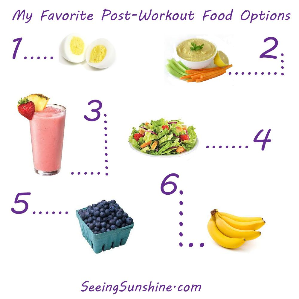 Some Of The Best Postworkout Food Options: Eggs, Hummus, Smoothies,