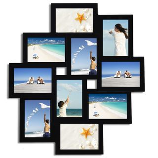 multiple picture frames wood. Adeco Black Wood Hanging 10-opening Collage Photo Frame Multiple Picture Frames G