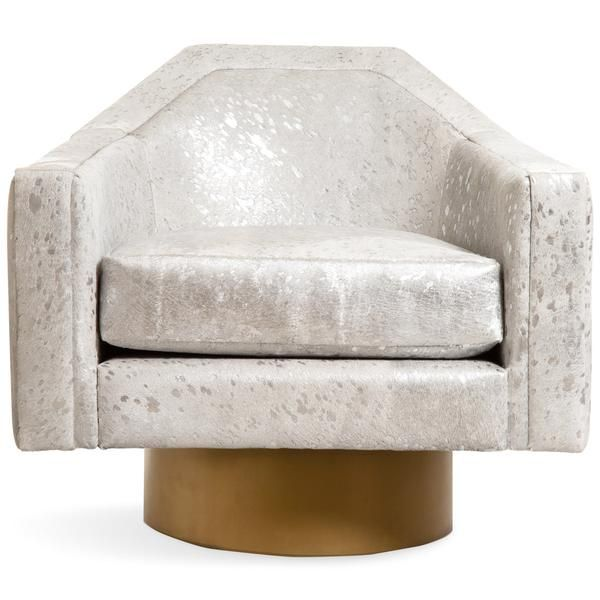 Marseille Occasional Chair In Cowhide In 2020 With Images