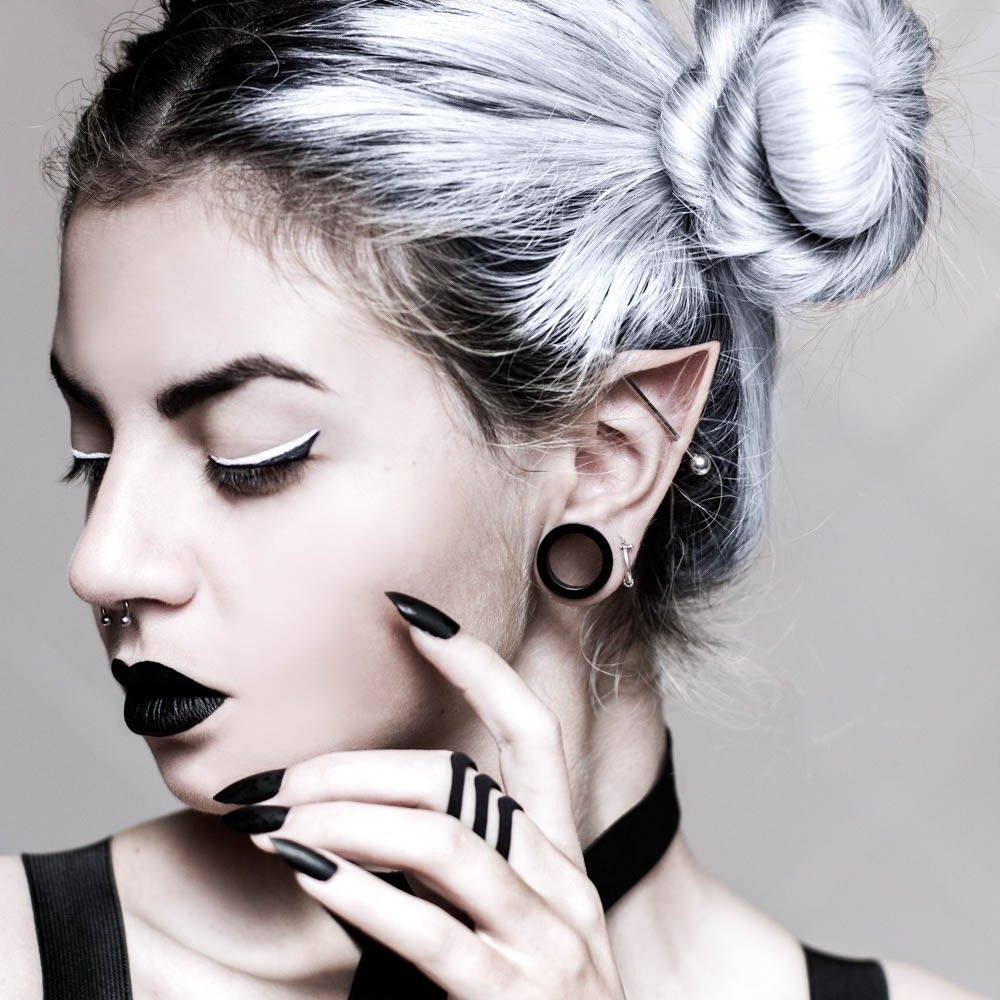 Piercing bump after a year  The Chase ring in Black  Body jewelry  Pinterest  Ring Piercings