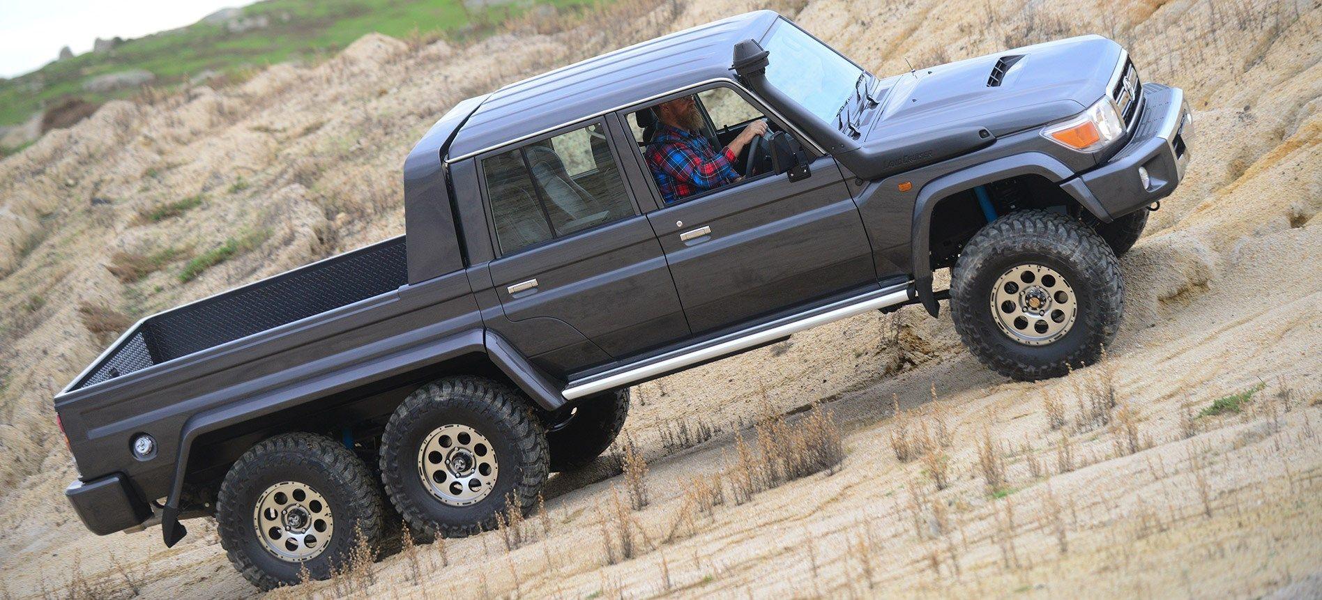 Kelebihan Toyota 6X6 Top Model Tahun Ini
