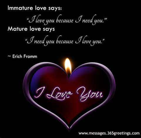 I need you because i love you meaning in hindi