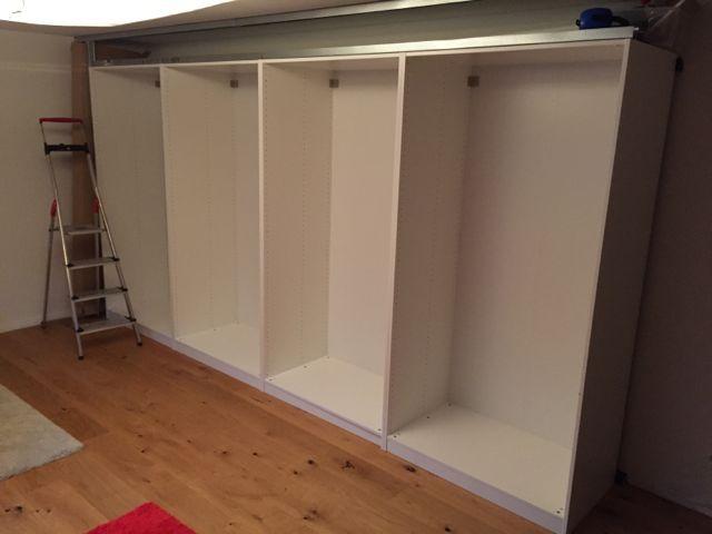 Ikea Einbauschränke pax built in einbauschrank trockenbau knauf basement