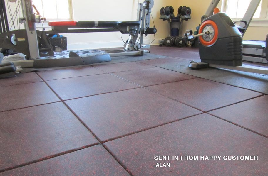 1 Inch Monster Rubber Tiles Extreme Fitness Flooring Rubber Tiles Rubber Flooring Floor Workouts