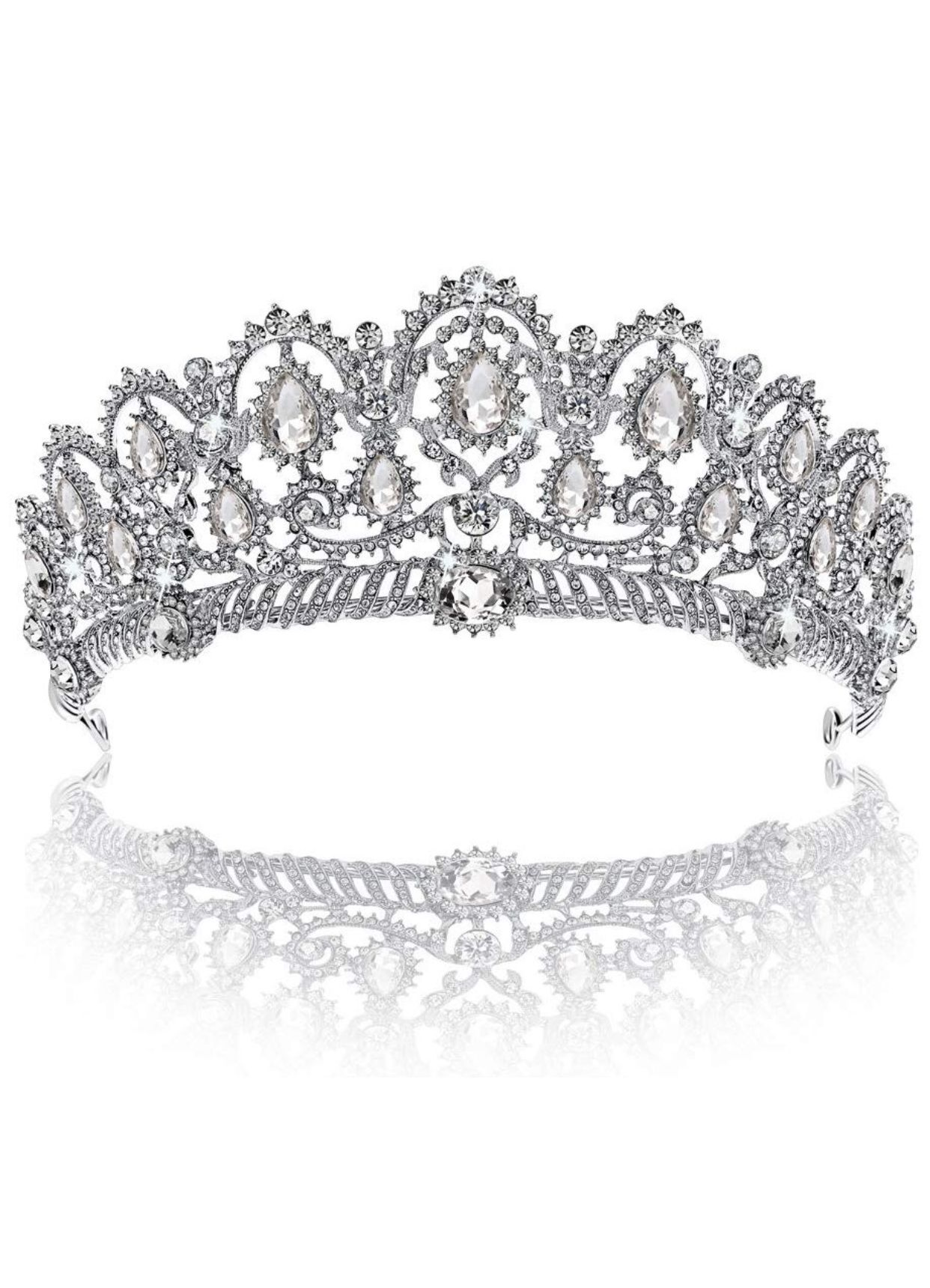 Pin By Christina Lam On Wedding Items Crystal Crown Wedding Wedding Item Queens Tiaras