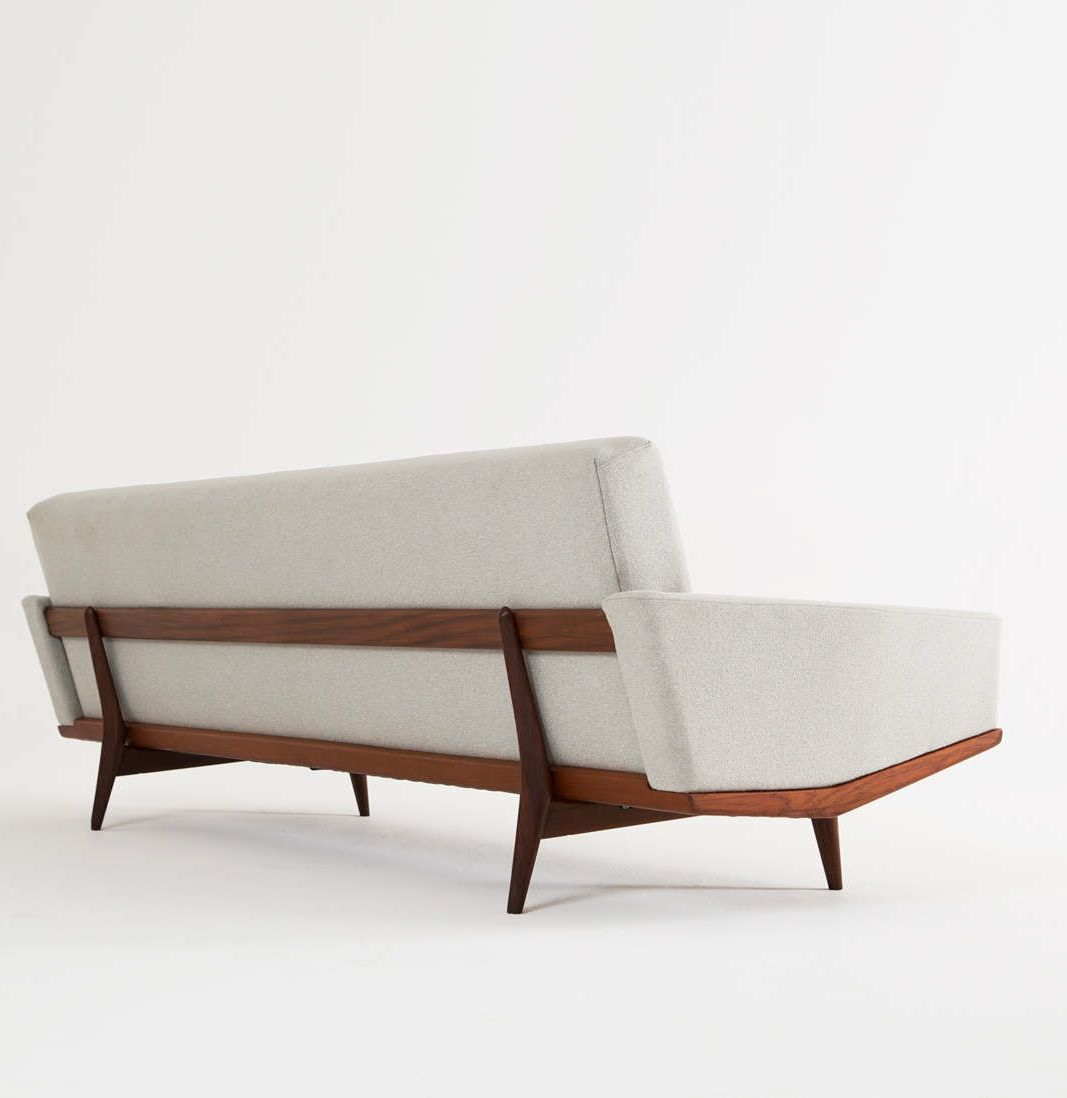 Illum Wikkelsø; Teak Sofa For H.W. Klein, 1950s. Sofa Bench, Sofa Chair