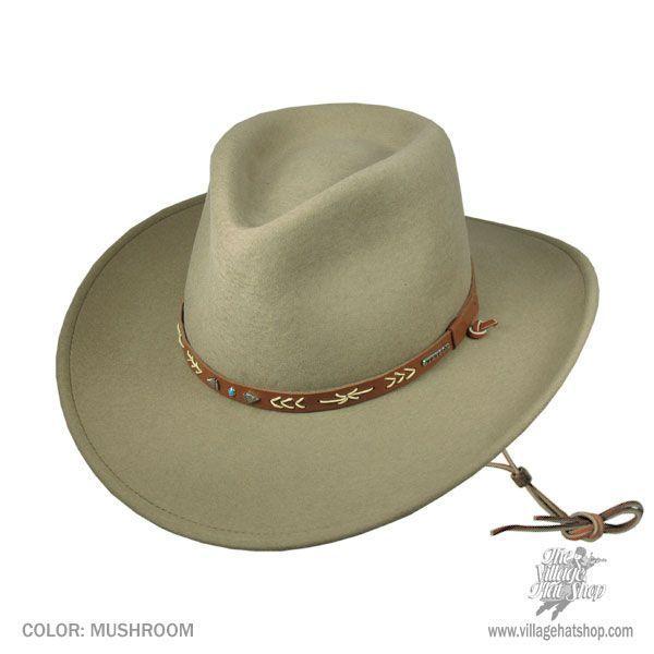 ffb55d14481cc Santa Fe Wool Felt Western Hat in 2018