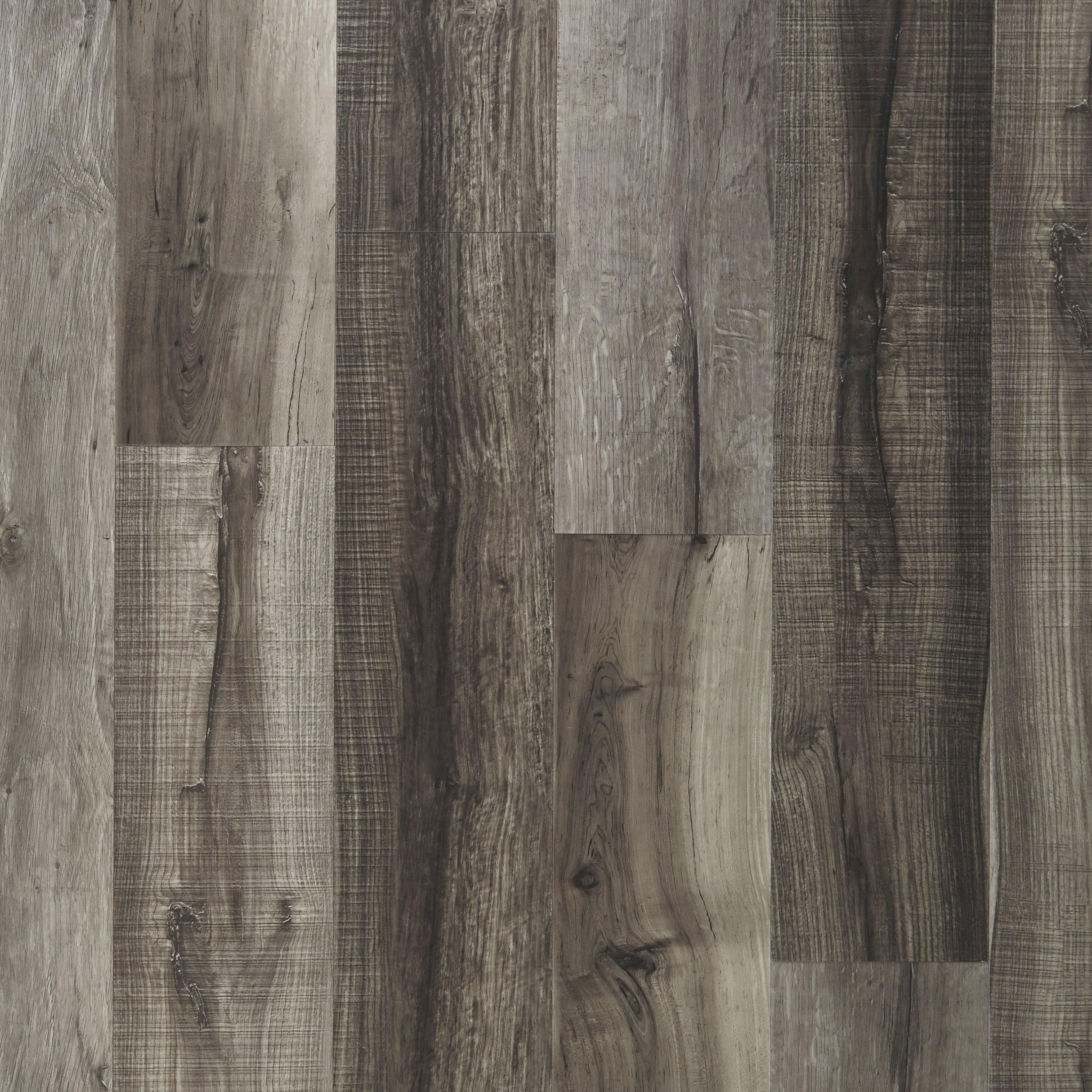 Mixed Gray Hand Sed Plank With Cork Back