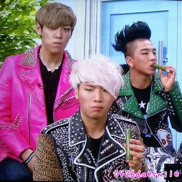 Daesung's face...and Tabi :P