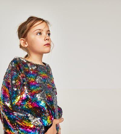 cc28434dd36 REVERSIBLE SEQUIN DRESS | Kids Winter Outfits | Sequin dress ...