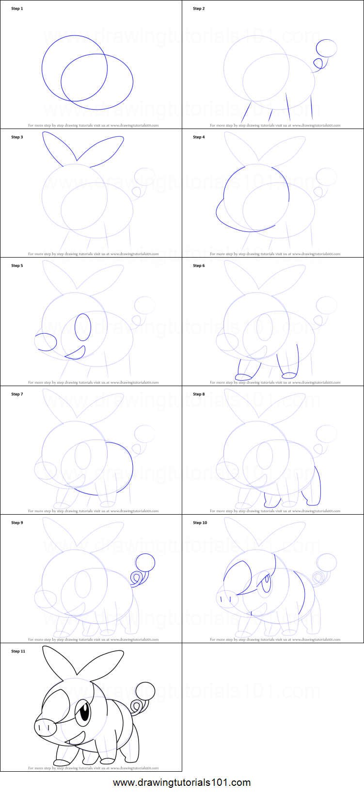 How To Draw Tepig From Pokemon Printable Step By Step Drawing Sheet Drawingtutorials101 Com Drawing Sheet Pokemon Sketch Pokemon Drawings [ 1641 x 751 Pixel ]