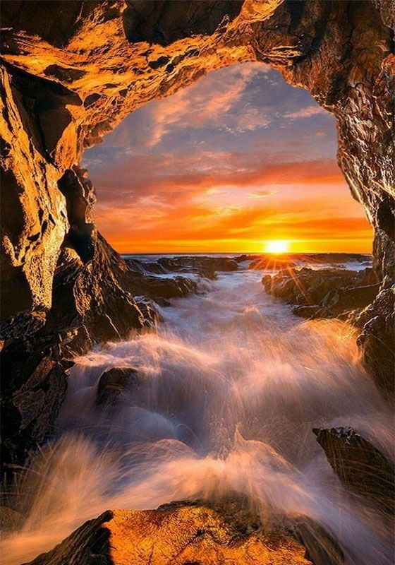 Cool Sun Rising View Beautiful Nature Nature Beautiful Sunrise