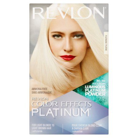 Beauty Revlon Color Virtual Hair Color Platinum Hair Color