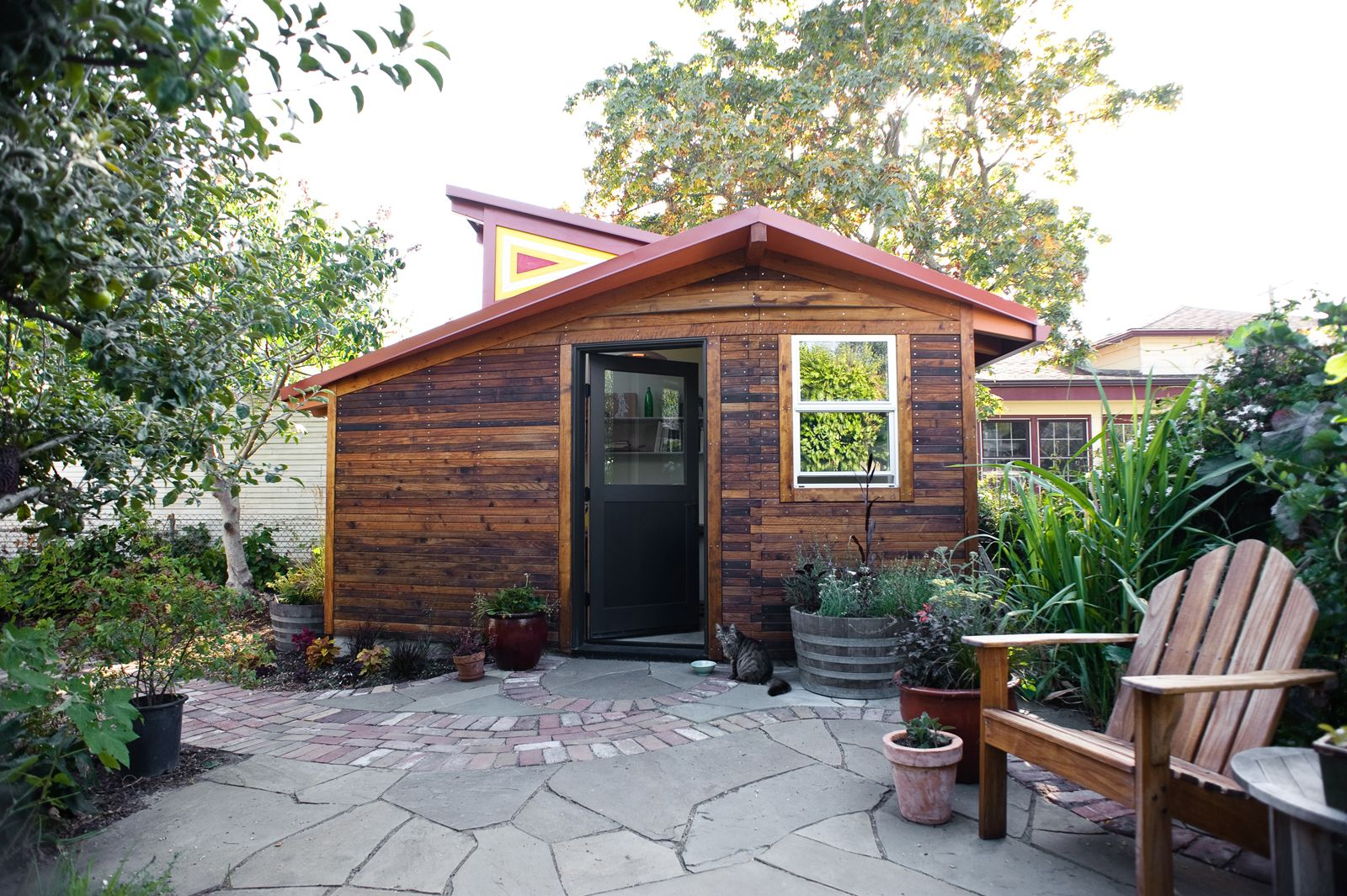 tiny backyard home office. Berkeley 100 Sq Ft Studio Attached To Main Home -- Love The Southern Facing Windows Tiny Backyard Office 6
