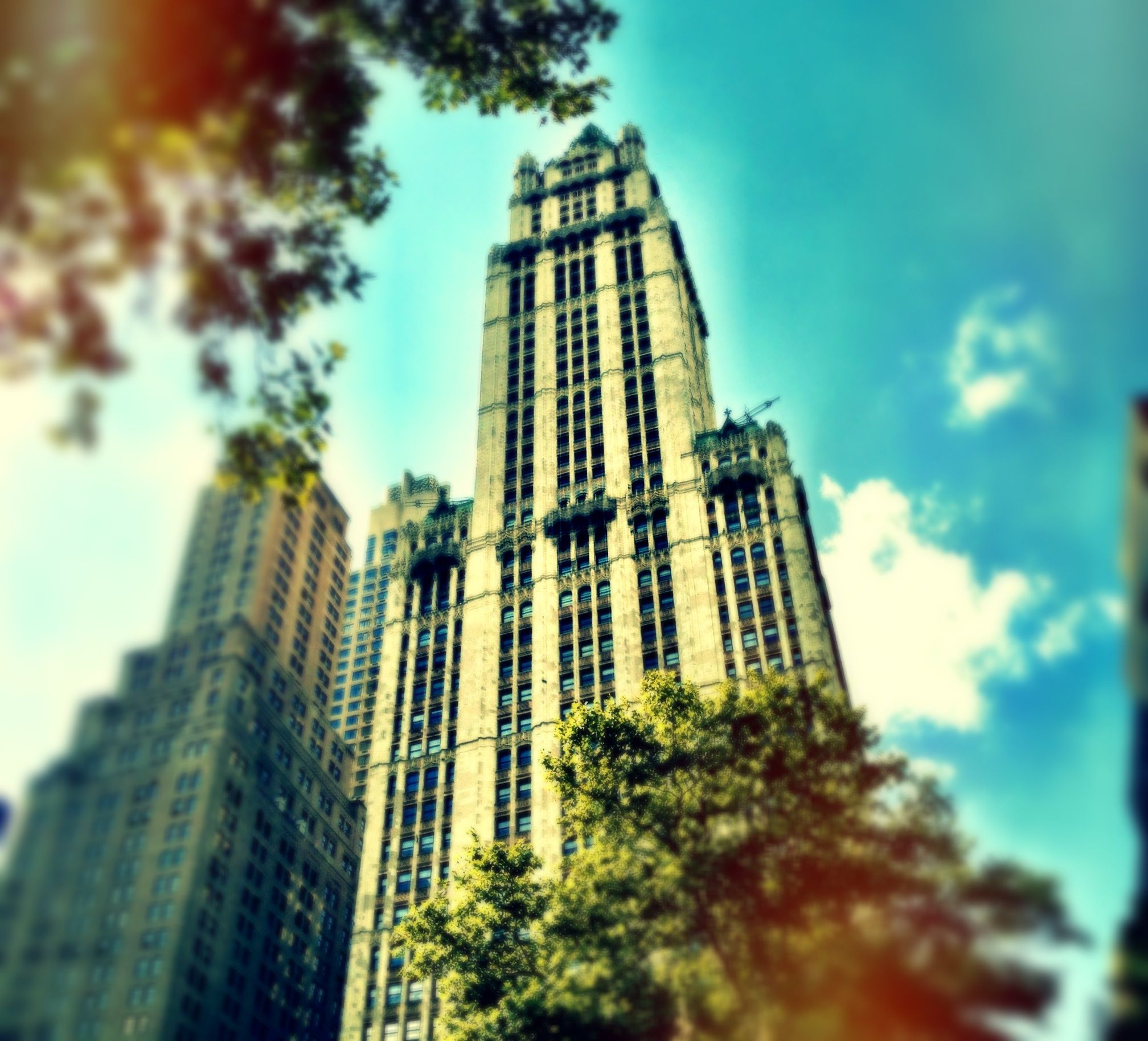 Woolworth Building NYC, Sept 2012