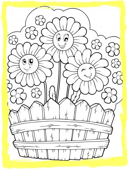 Ceramic coloring for children four seasons coloring page summer coloring pages home profesional