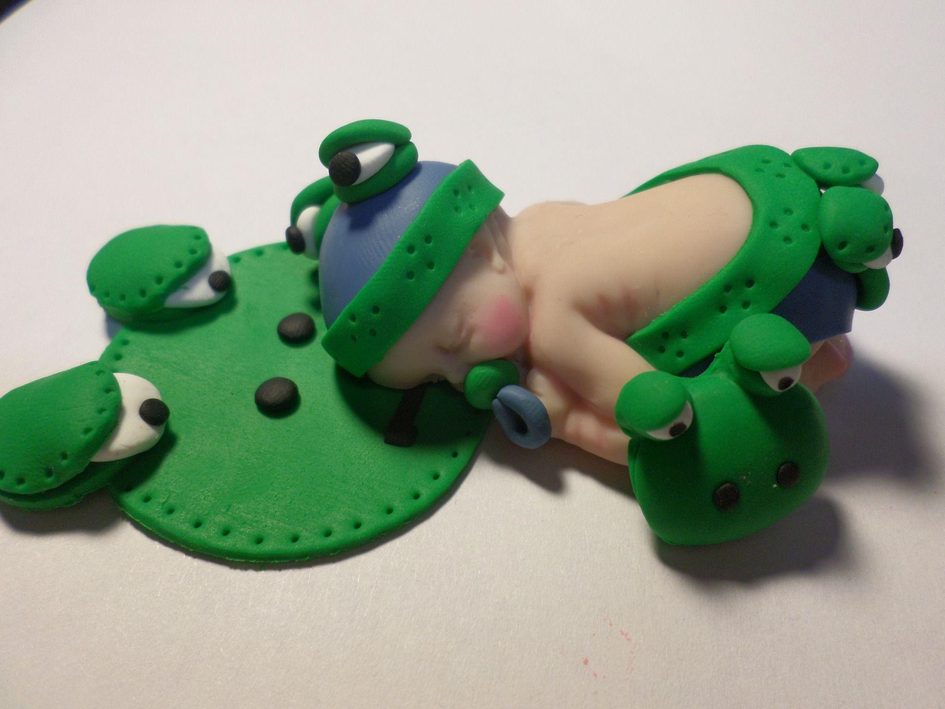 b b fimo gar on habill en grenouille acheter pinterest petits gar ons fimo et jolies. Black Bedroom Furniture Sets. Home Design Ideas