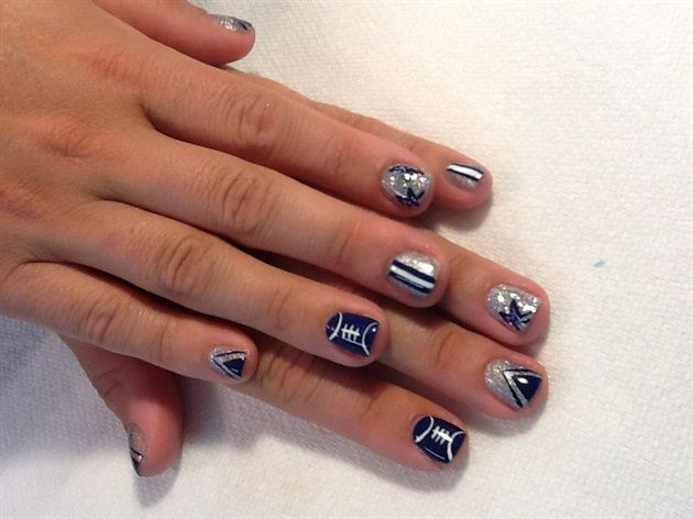 Dallascowboysbyalysnails Nailartgallerynailartgallery