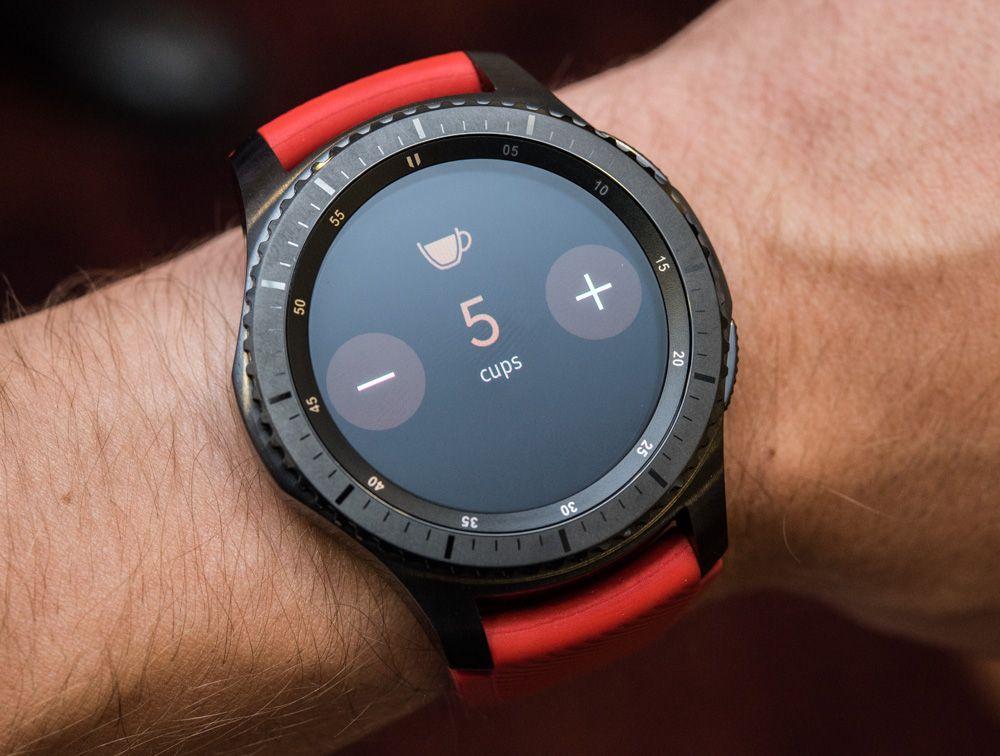 Samsung Gear S3 Frontier Classic Smartwatch Hands On Debut Smart Watch Samsung Gear S3 Frontier Gear S3 Frontier