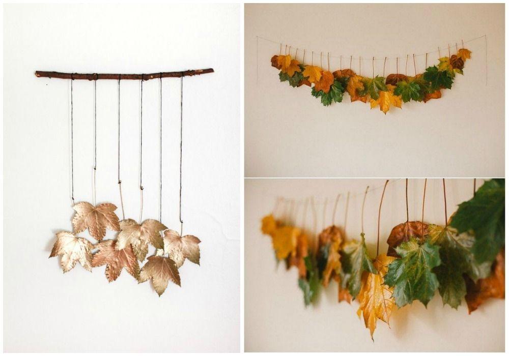 DIY HOJAS DE OTOÑO   Decoración   Pinterest   Hojas de otoño, Otoño ...