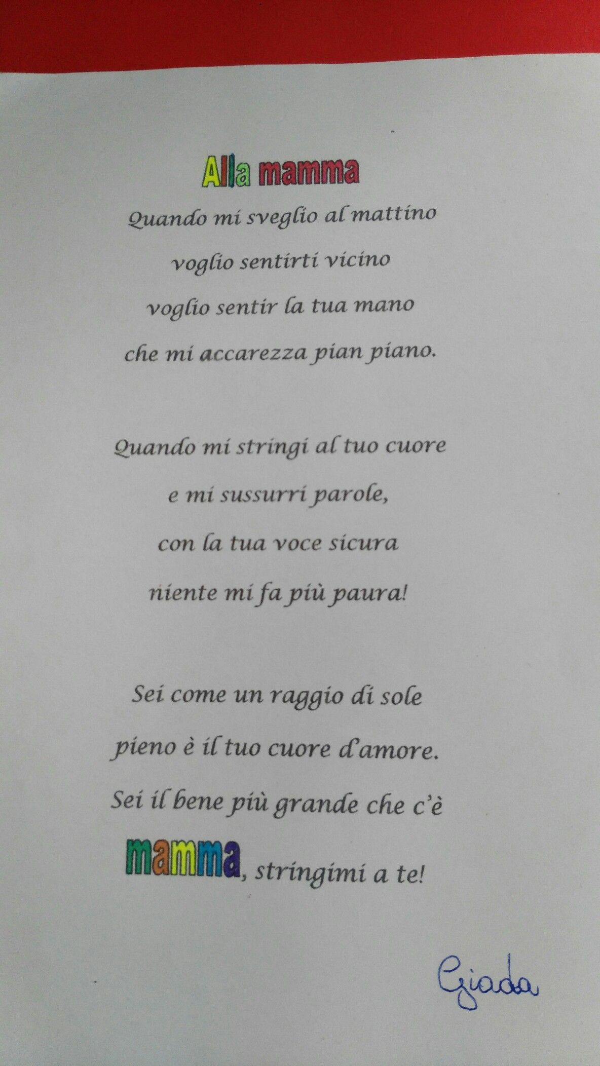 abbastanza Poesia mamma | mamma | Pinterest | House PF15