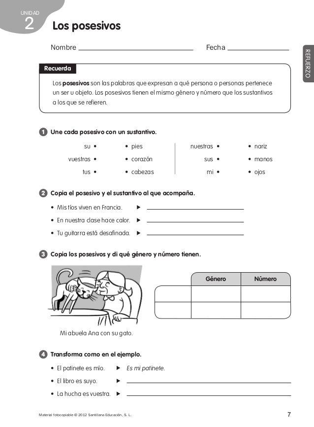 Refuerzo y ampliacion lengua 4º | Lecturas comprensivas | Lengua ...