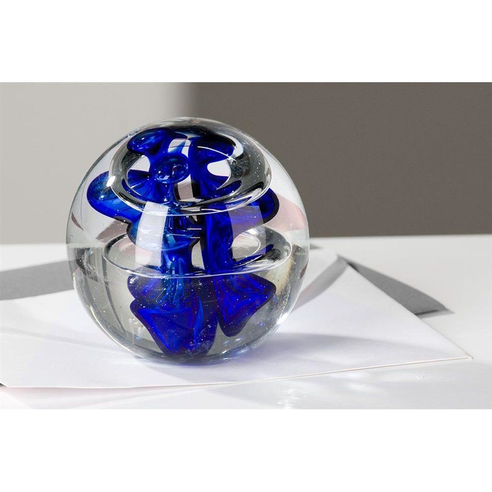 Glaskugel Modell G200 Glaskunst Gro/ße Traumkugel Briefbeschwerer Dekoglaskugel
