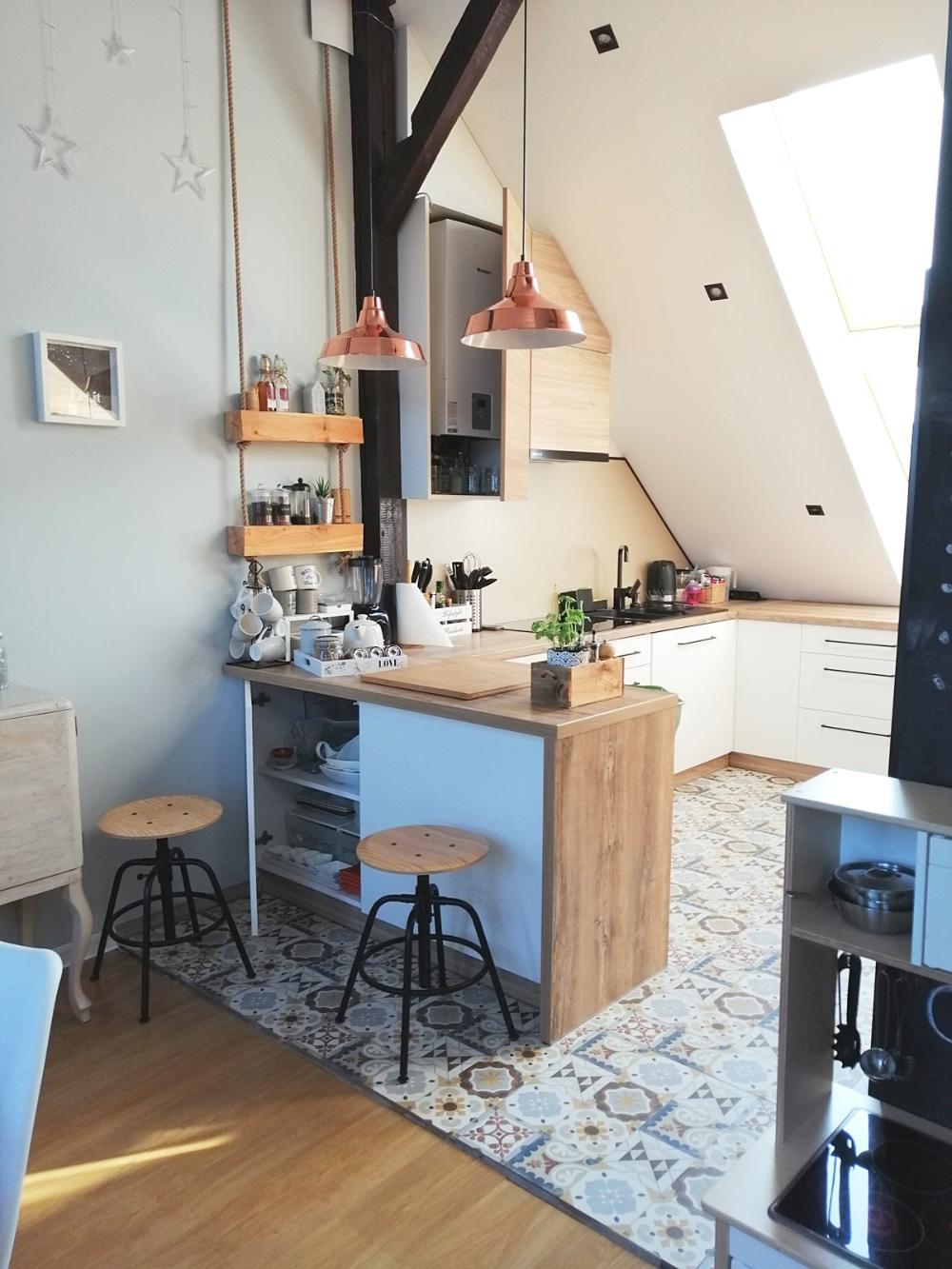 Kuchnia Na Poddaszu Home Decor Home Decor