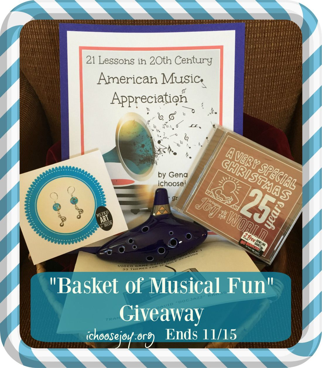 Basket Of Musical Fun Giveaway