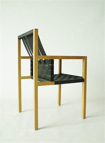 Superb Gijs Bakker A Rare Limited Edition U0027Seatbeltu0027 Chair. The Chair Has A Strict