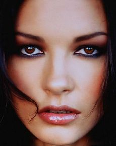 Catherine Zeta Jones's Face