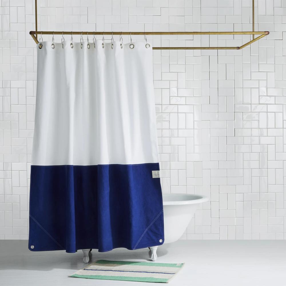 Orient Dusk | Shower Curtain Brooklyn Made | Quiet Town