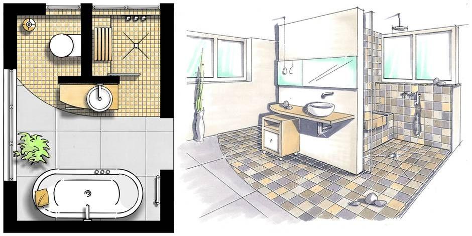 kleine bder vorwandinstallation grundriss ndern foto shk 100 baeder - Bw Kleines Bad Dusche Wandverkleidung Ideen