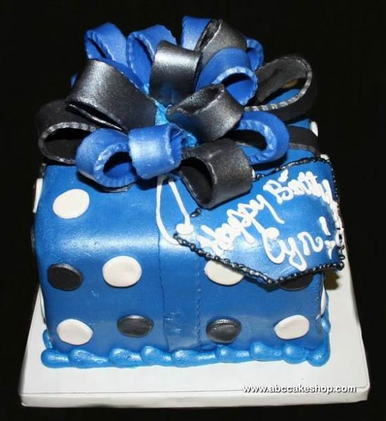 18th Birthday Cake For Men, Gold, Black, And White