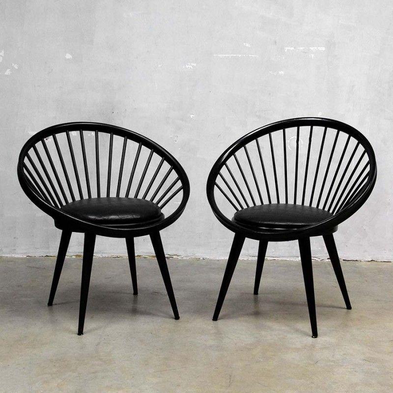 Located Using Retrostart.com U003e Circle Lounge Chair By Yngve Ekström For  Swedese