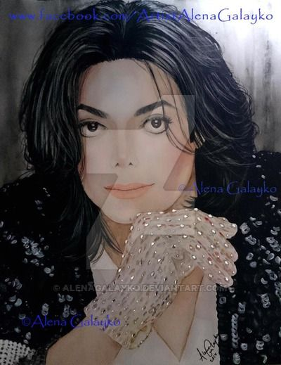 MICHAEL JACKSON by AlenaGalayko on DeviantArt
