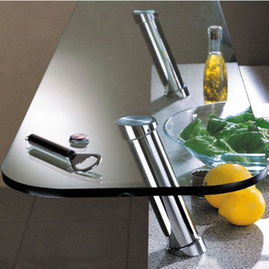 Hafele S Countertop 20 Angled Bar Supports For Glass Tops Help