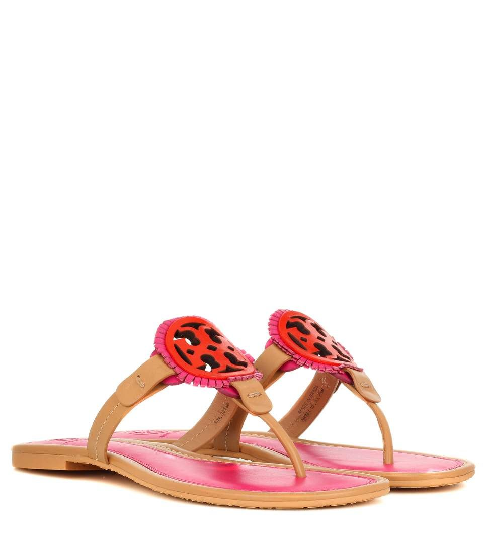 56c852eb2886 TORY BURCH Miller Fringe leather sandals.  toryburch  shoes  sandals