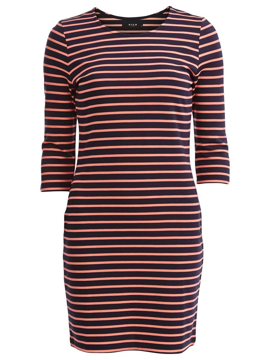 Simple long sleeved dress that will colour you up colour