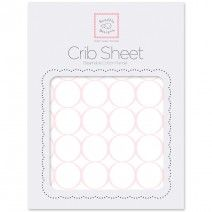 Looking for Fitted Flannel Crib Sheets? We've got 'em! - Mod Circles on White #MadeinUSA #MadeinAmerica #BabyBedding #NurseryLinens #Pregnant #Expecting #BabyShower #BabyGift #NurseryStyle #WomanOwnedBusiness #Love