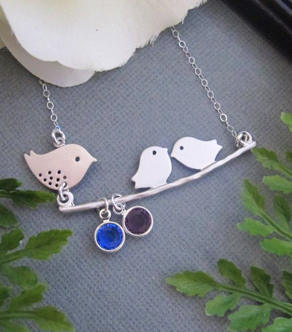 """okay, this might be the best """"mom"""" jewelry i have ever seen, and it's for twins!"""